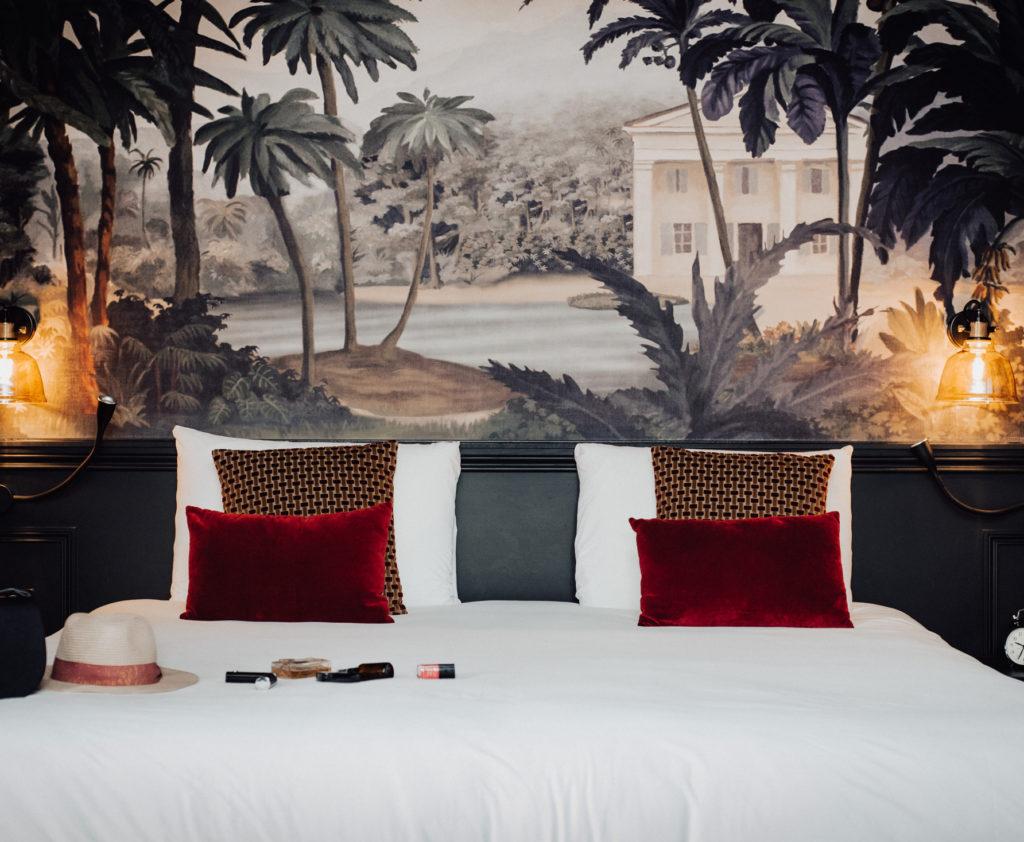 Projet de rénovation et de décoration des chambres de l'hôtel Mercure de Rochefort