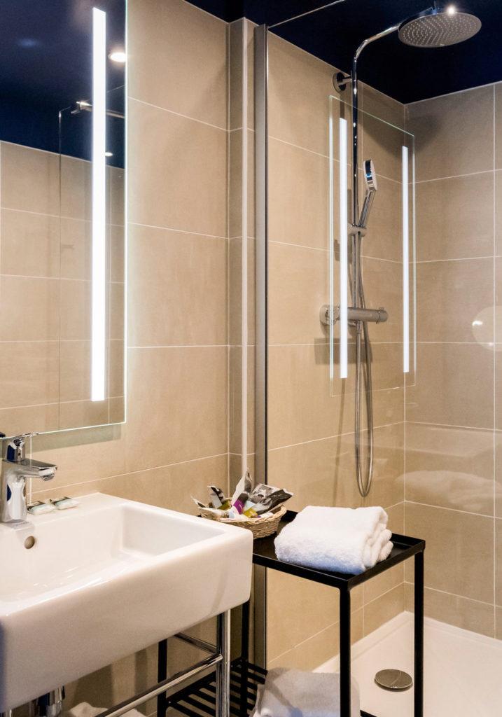Rénovation des salles de bain des chambres