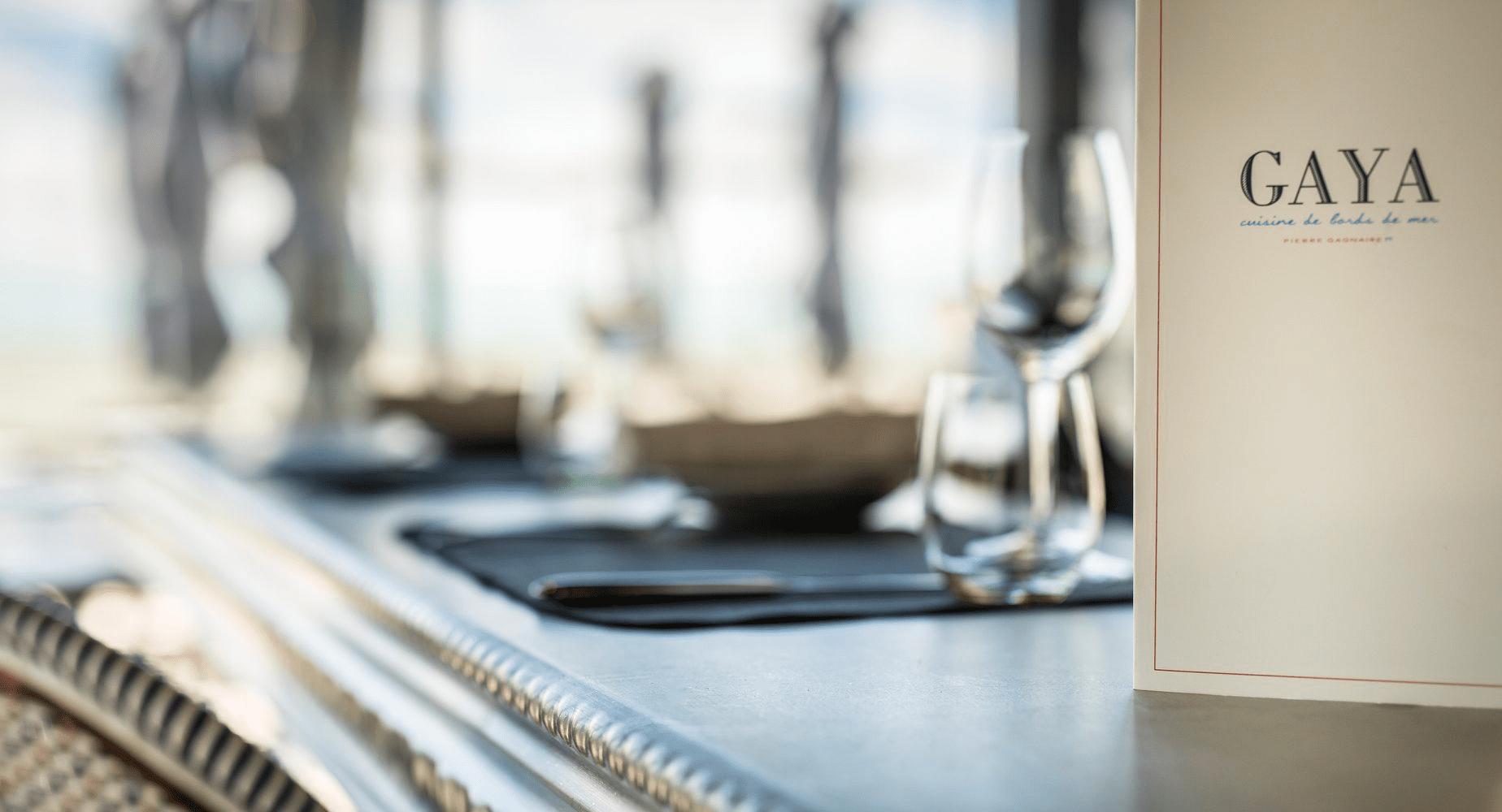 Design d'espace pour le restaurant Gaya de Chatelaillon-Plage