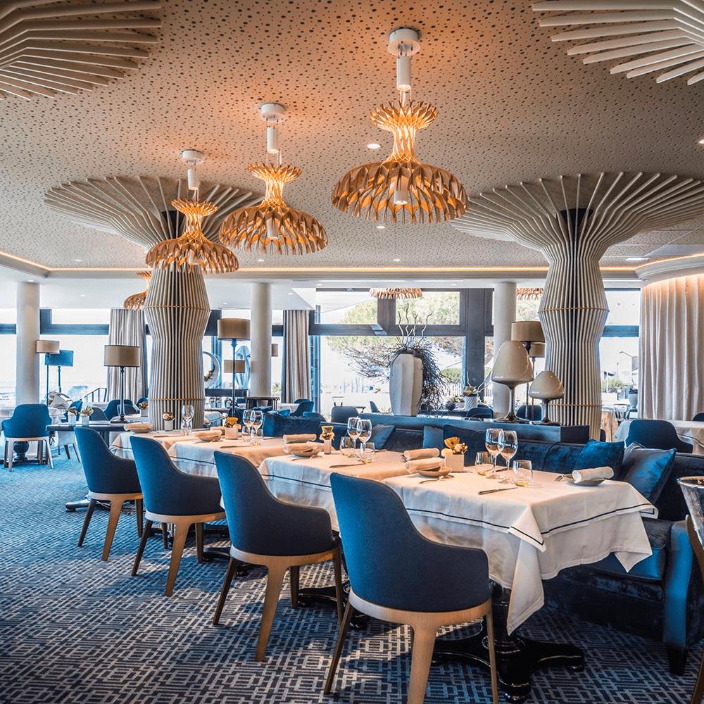 Design d'intérieur restaurant haut de gamme