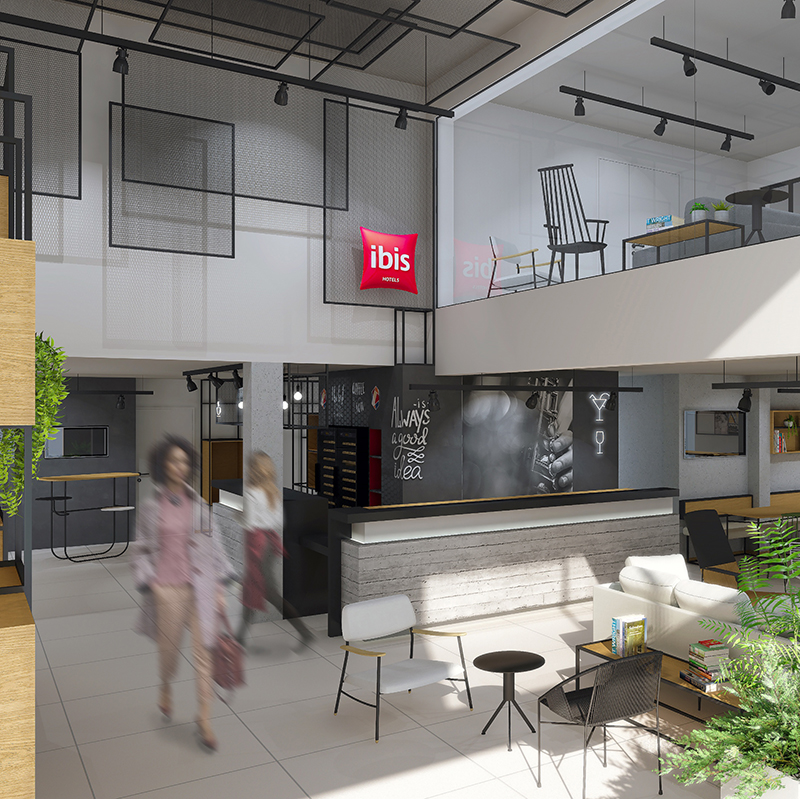 Le concept Plaza du groupe Accor pour les hôtels Ibis