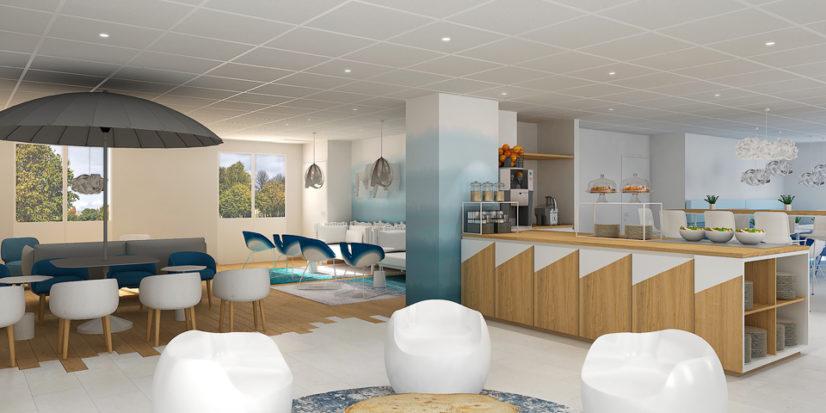 Rénovation et agencement de l'hôtel Ibis Styles de Carquefou à Nantes