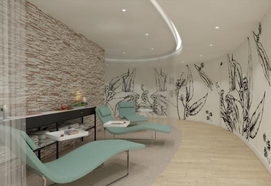 Création d'un spa en architecture commerciale