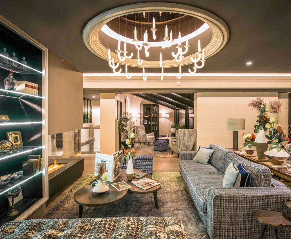 Rénovation et agencement de l'espace lounge