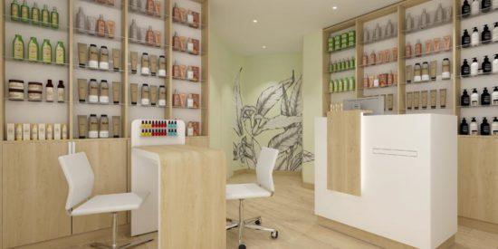 L'agence d'architecture intérieur à décoré et aménager l'onglerie de Saint-Yrieix