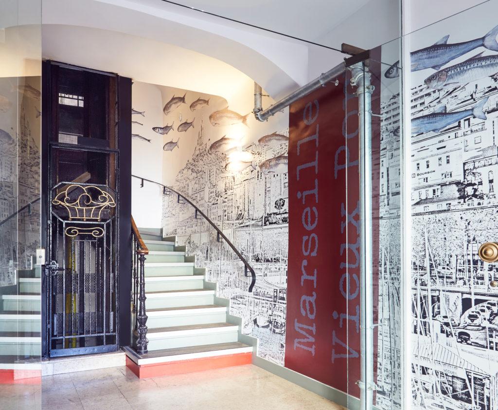 Projet de rénovation et d'agencement de l'hôtel Ibis Styles de Marseille vieux port
