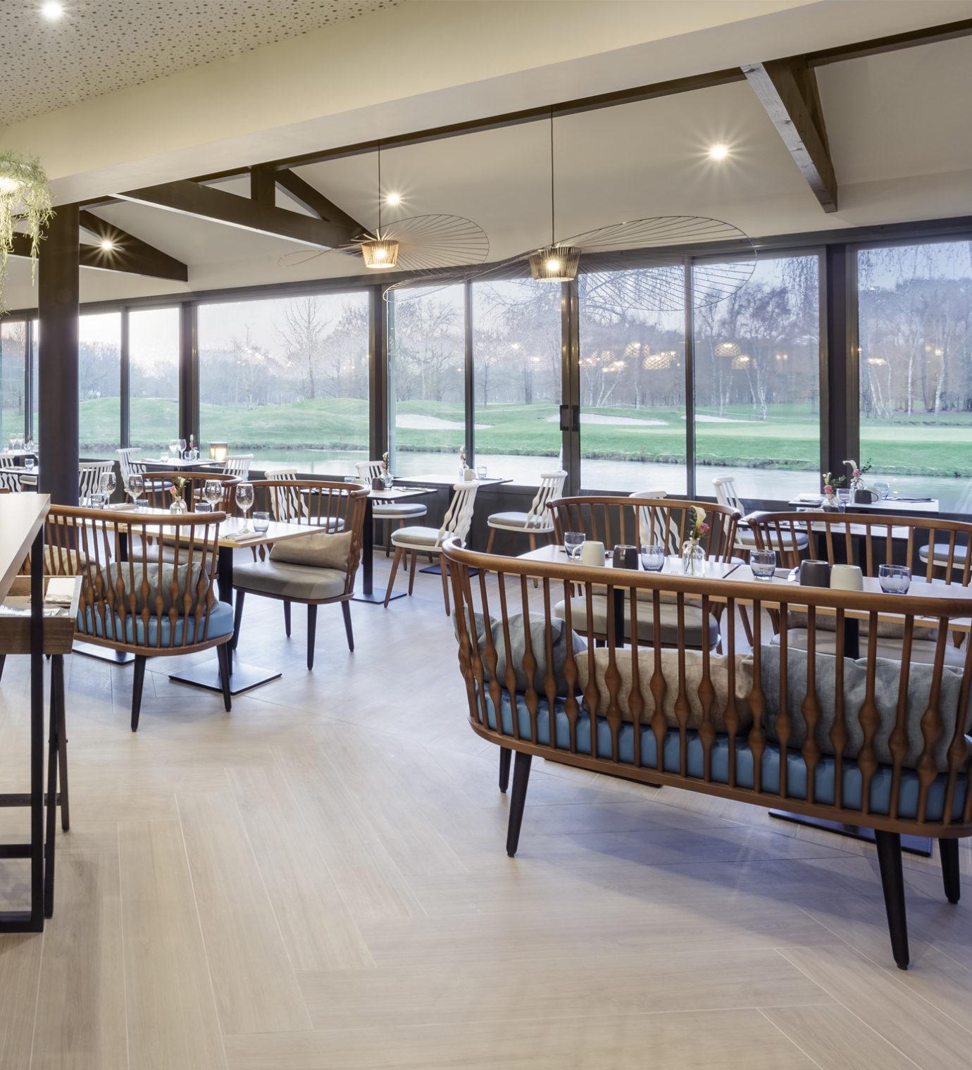Design d'espace et architecture d'intérieur du restaurant