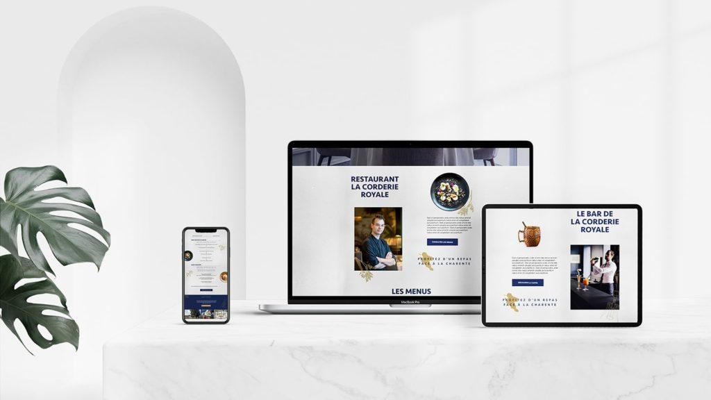 Création de site Internet, e-commerce, réservations pour hôtels et restaurants