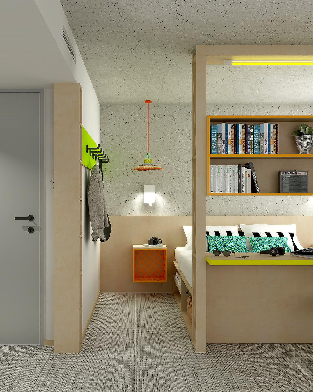 Agence d'architecture hôtelière pour les hôtels Greet
