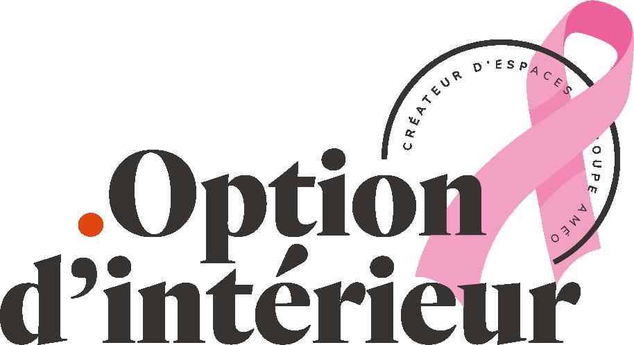 Logo Option d'Intérieur Octobre Rose