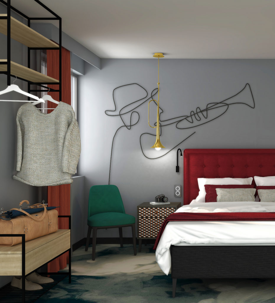 Agence spécialisée en retail design, architecture intérieure pour les hôtels