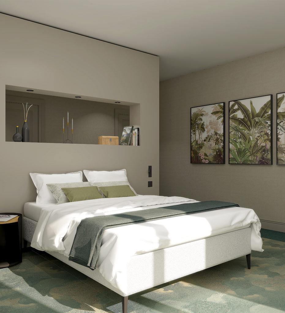 Décoration et aménagement de chambre et de salle de bain