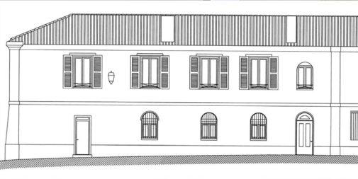 décoration intérieur d'un immeuble en réhabilitation loi Malraux à La Rochelle