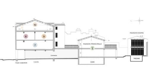 rénovation et aménagement de 5 appartements rue du Minage à La Rochelle