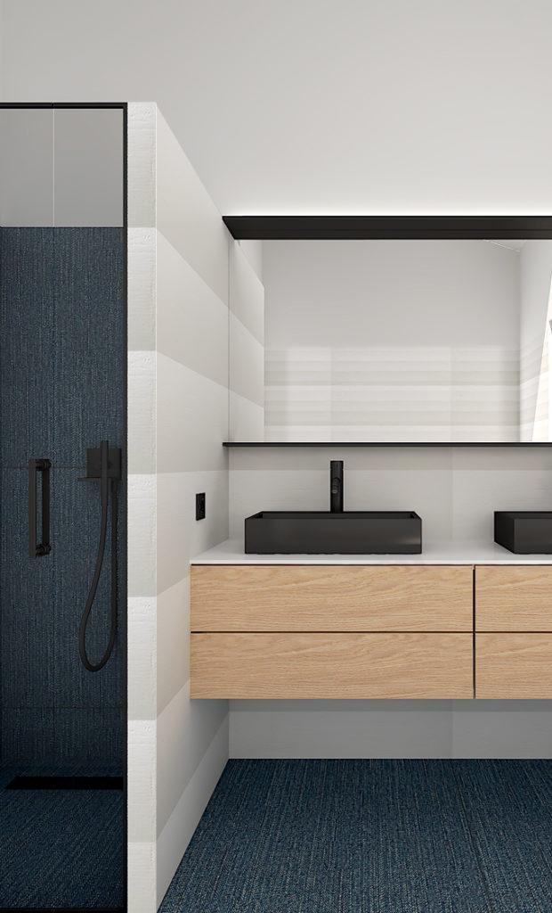 Rénovation et décoration d'une salle de douche