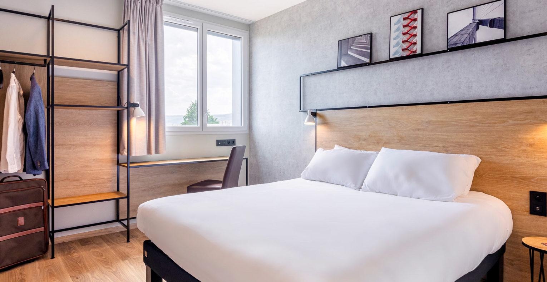 Réalisation de la décoration des chambres de l'hôtel sous le concept Plaza