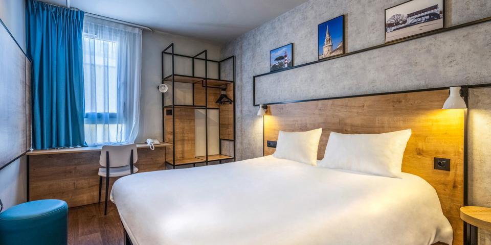Projet d'agencement et de décoration des chambres sous le concept Plaza de l'hôtel Ibis de La Rochelle