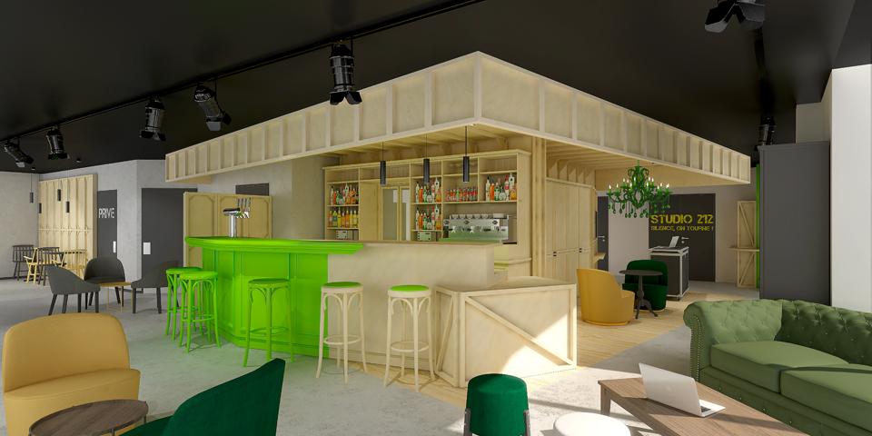 Rénovation et décoration d'un hôtel Ibis Styles à La Plaine St Denis