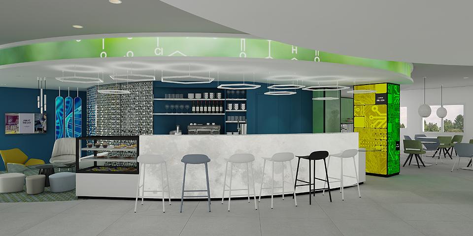 Projet d'agencement et de rénovation de l'hôtel Ibis Styles de Fougères