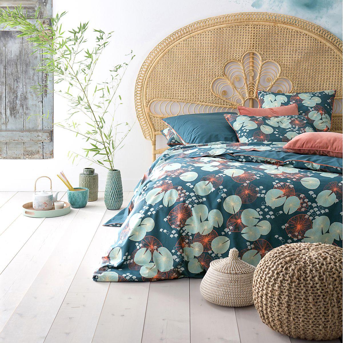 Tête de lit en cannage pour décoré une chambre