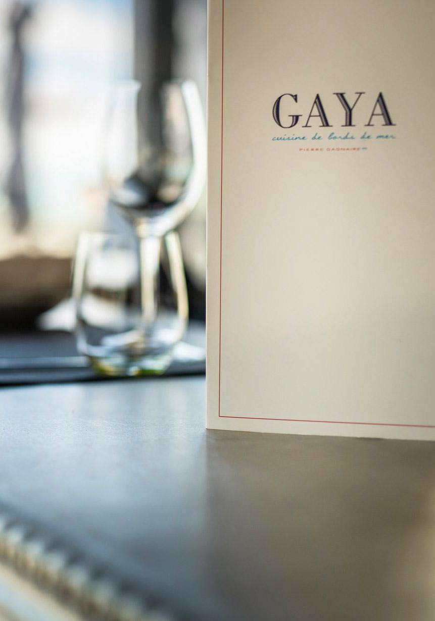 Projet d'architecture commerciale du restaurant Gaya près de La Rochelle