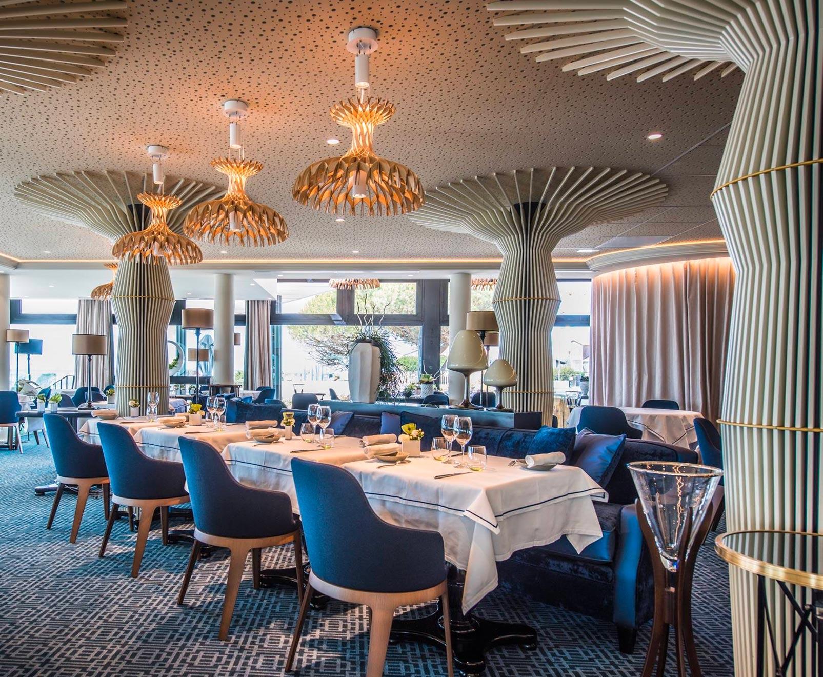 Agencement et décoration intérieure du restaurant Gaya
