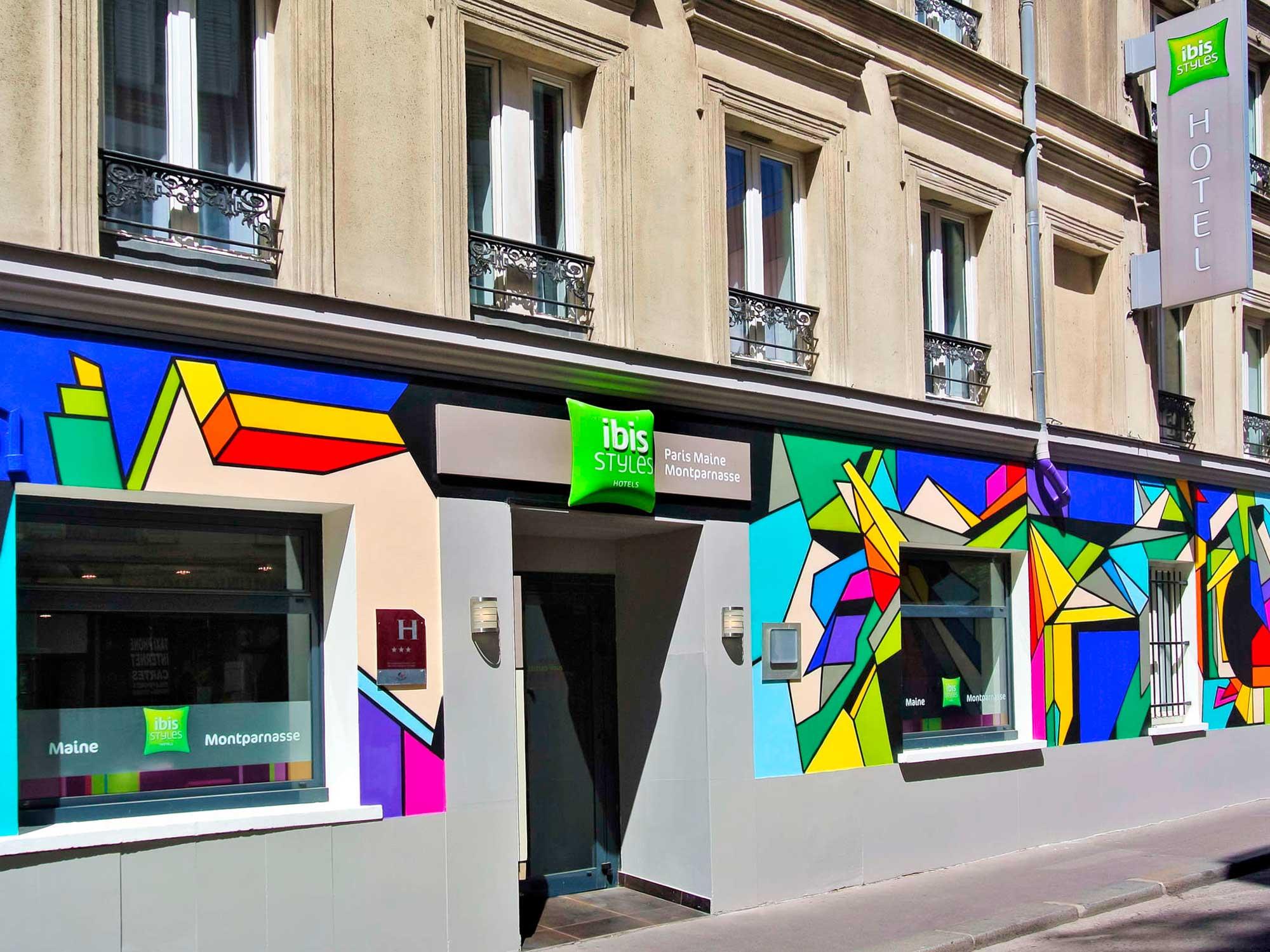 Projet architecture commerciale de l'hôtel Paris Maine Montparnasse