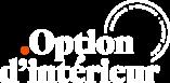 Logo Option d'Intérieur blanc