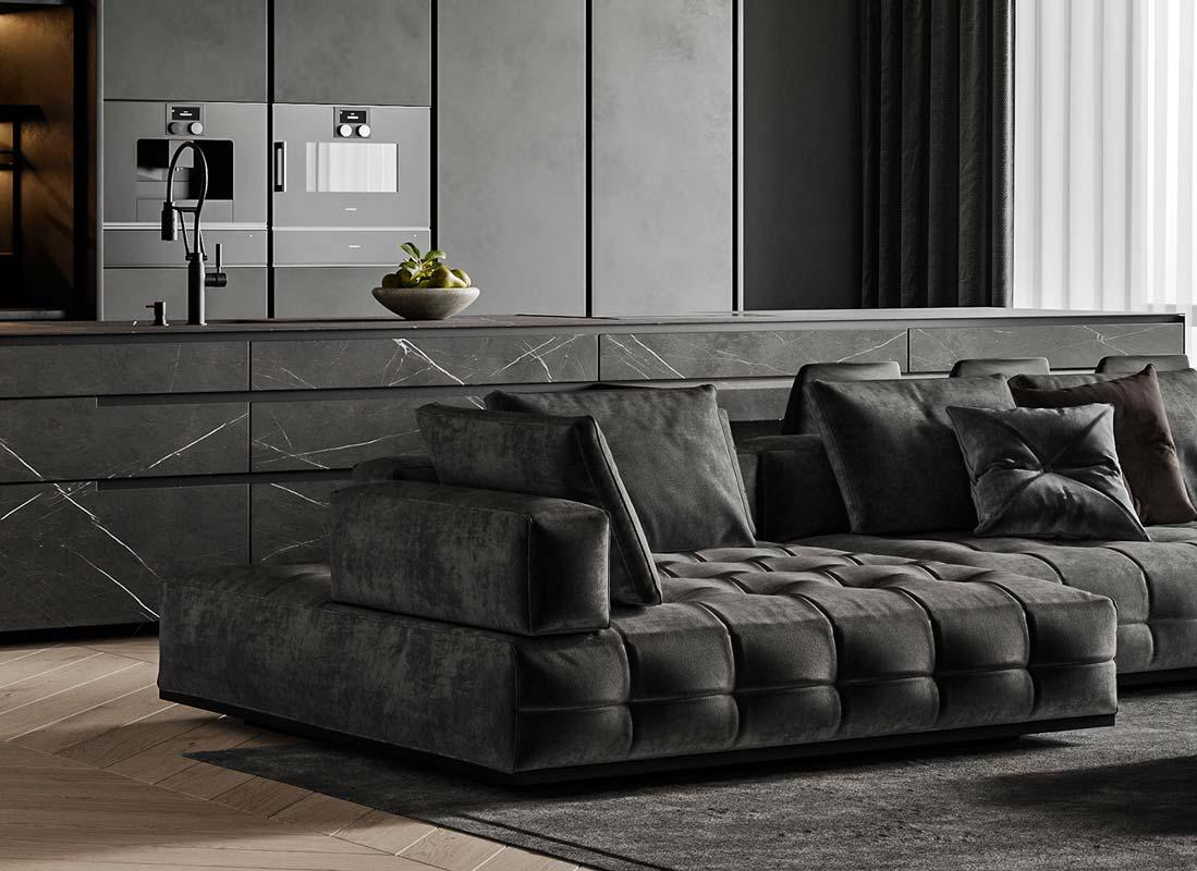 la tendance du noir en décoration intérieure