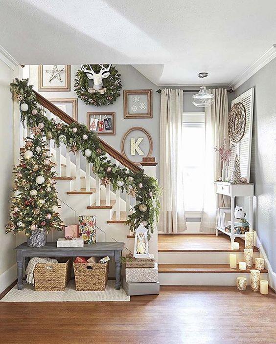 Décoration scandinave pour les fêtes de Noël