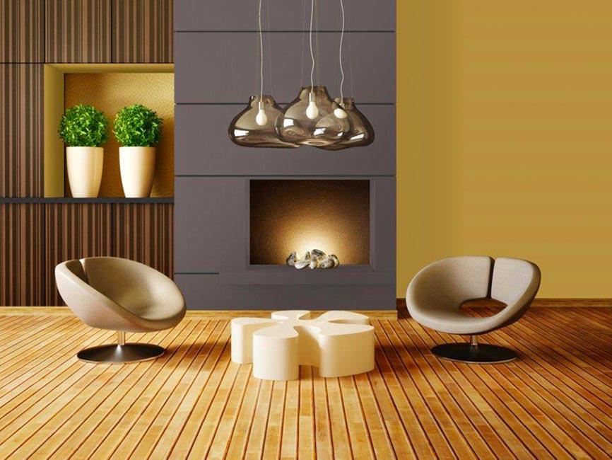 Salon ultra design jaune illuminating et gris ultimate Gray, tendance 2021
