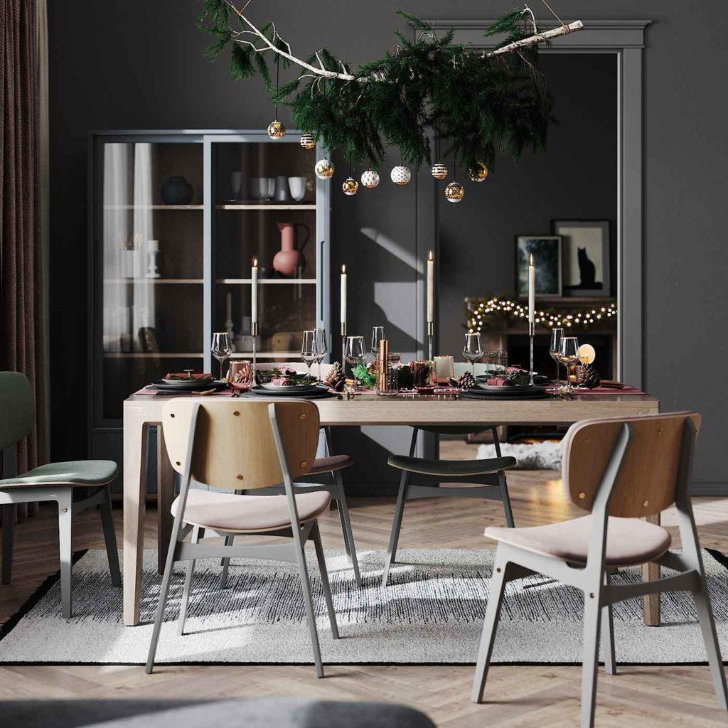 Les tendances de décoration de table de Noël de 2020