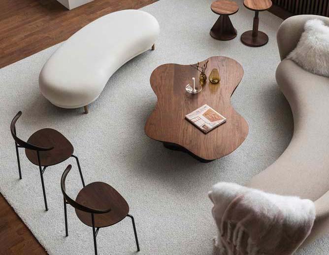 La tendance tout en rondeur investit notre mobilier et nos intérieurs