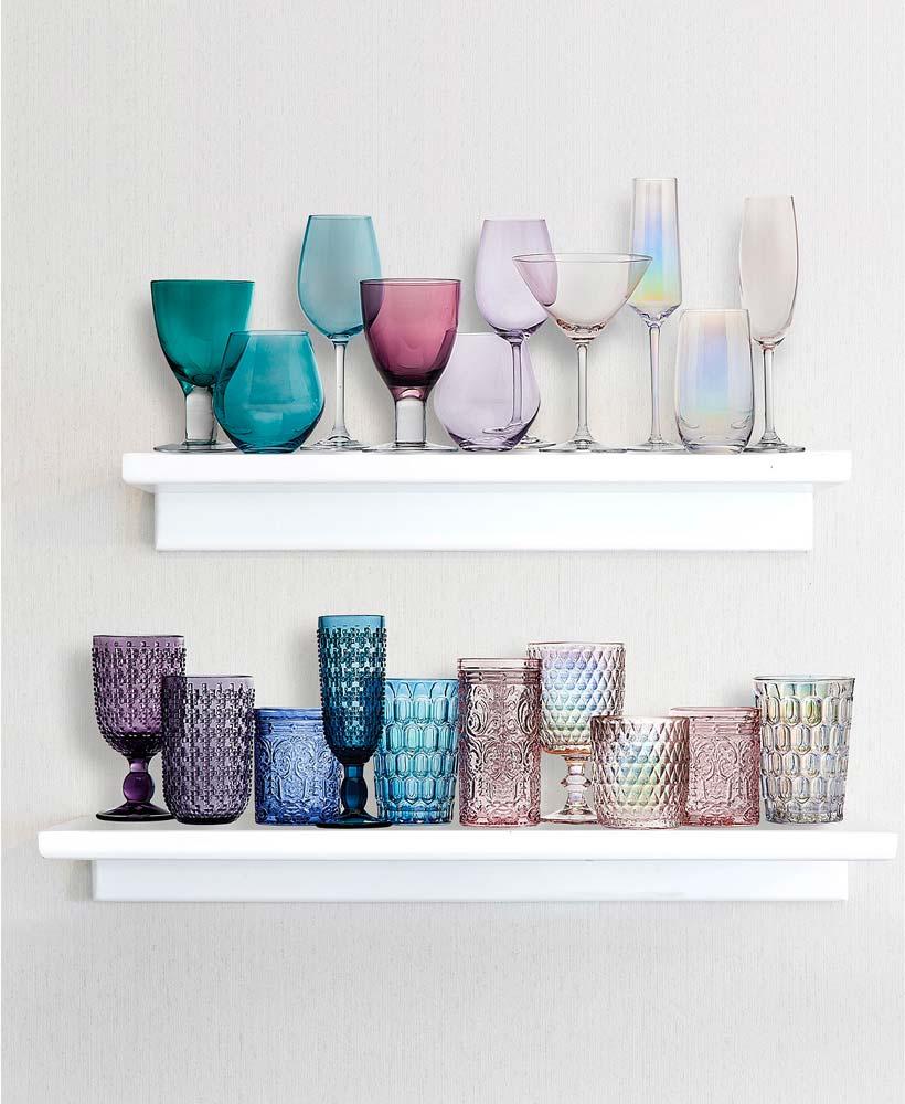 Les verres colorés sont tendance en 2021